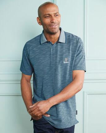 Guinness™ Short Sleeve Textured Polo Shirt