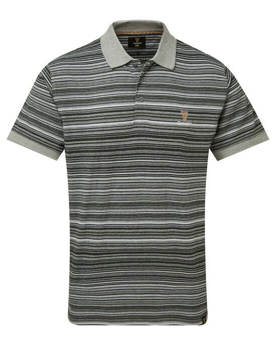 Guinness Fine Stripe Polo Shirt