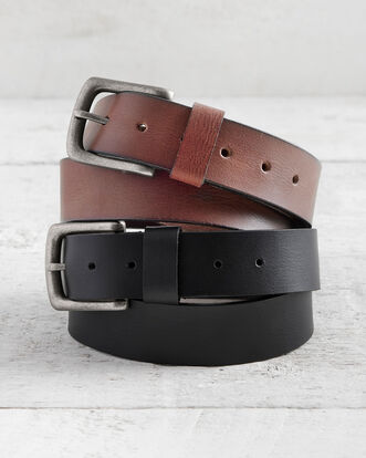 Men's Leather Jeans Belt