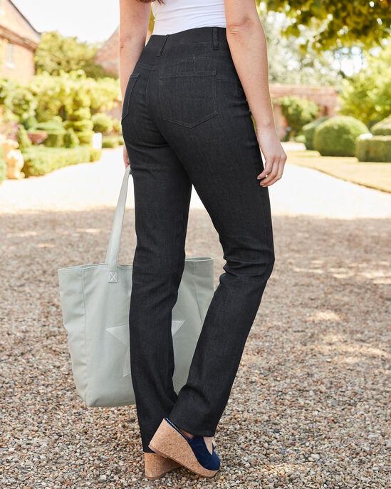 Magic Comfort Straight Leg Denim Jeans