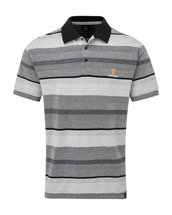 Guinness® Birdseye Stripe Polo Shirt