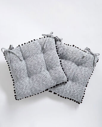 Pack of 2 Chair Seat Pads