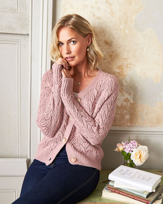 Cable Cardigan