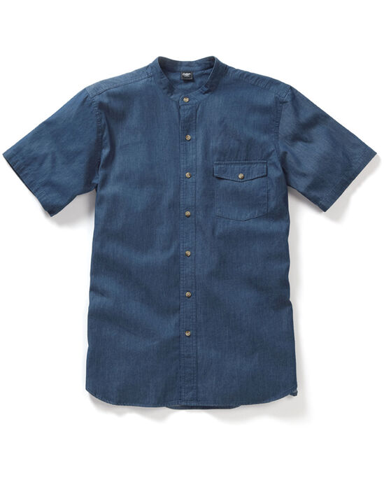 Denim Grandad Shirt