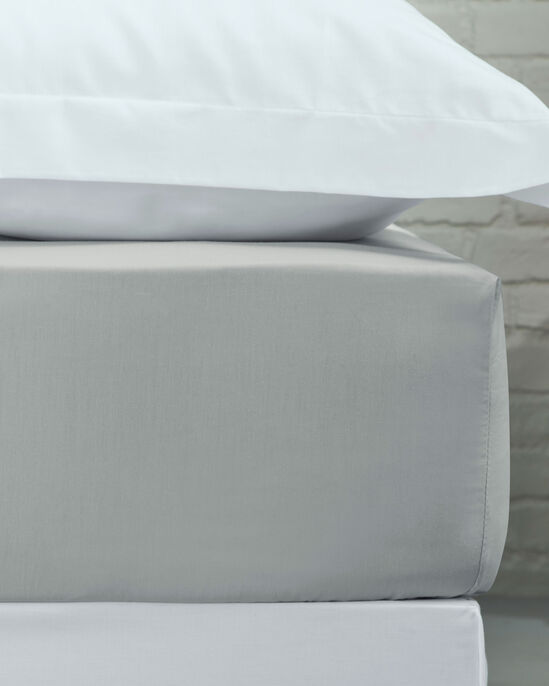 200 Thread Count Cotton Percale Fitted Sheet King Size