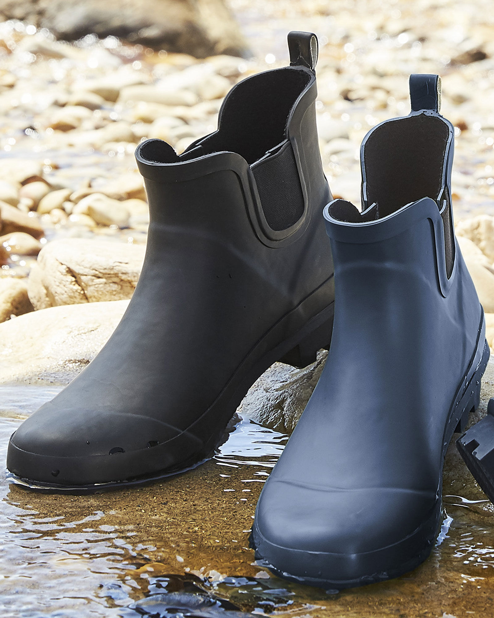 Ankle Wellington Boots at Cotton Traders