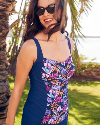 Ruched Tankini Top
