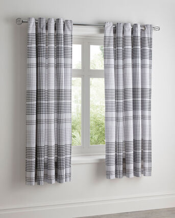 """Zanzibar Eyelet Curtains 66X72"""""""