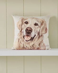 Waggy Dogz Golden Retriever Cushion