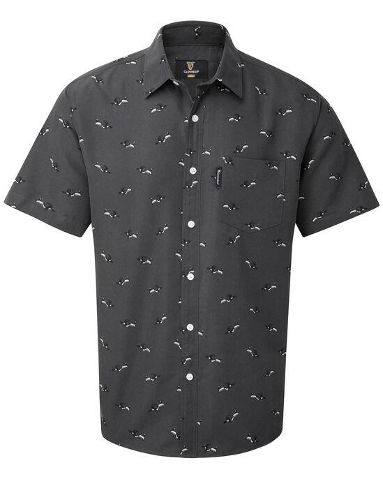 Guinness® Short Sleeve Soft Touch Toucan Print Shirt
