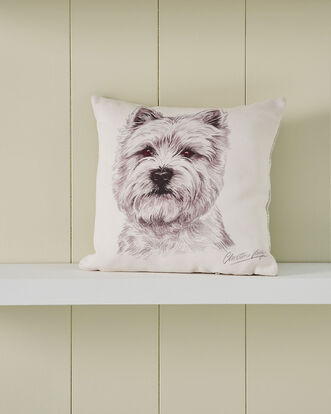 Waggy Dogz Westie Cushion
