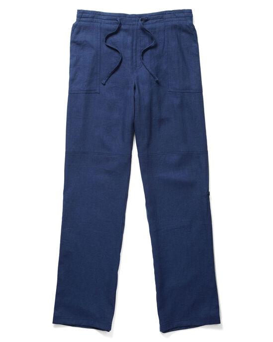 Linen Blend Convertible Trousers