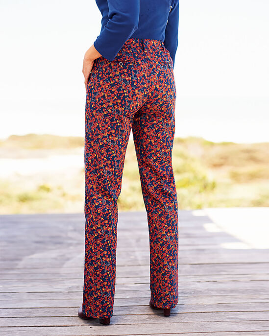 Print Chino Trousers
