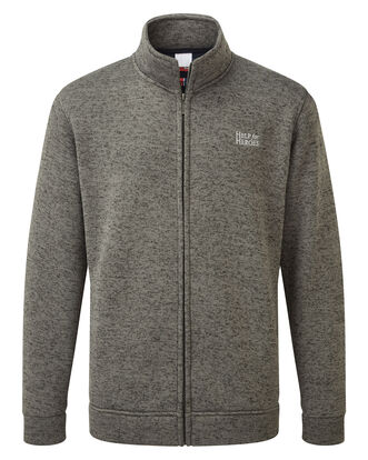 Help For Heroes Soft Touch Zip Through Jacket