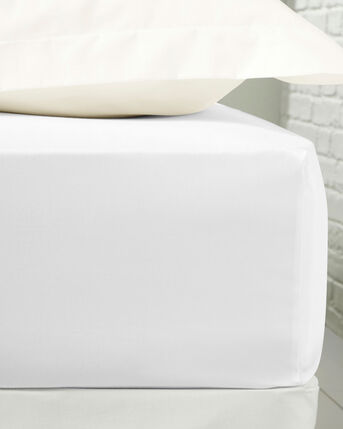400 Thread Count Cotton Sateen Extra Deep Fitted Sheet (38cm Deep)