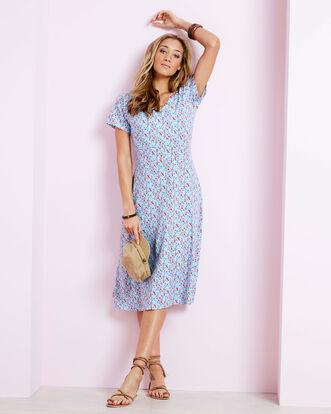 Tummy Control Printed Dress