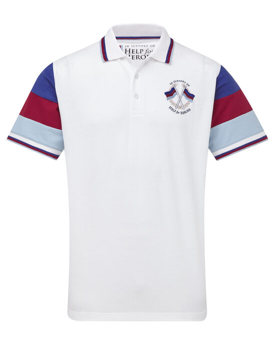 Help For Heroes Panel Sleeve Polo Shirt
