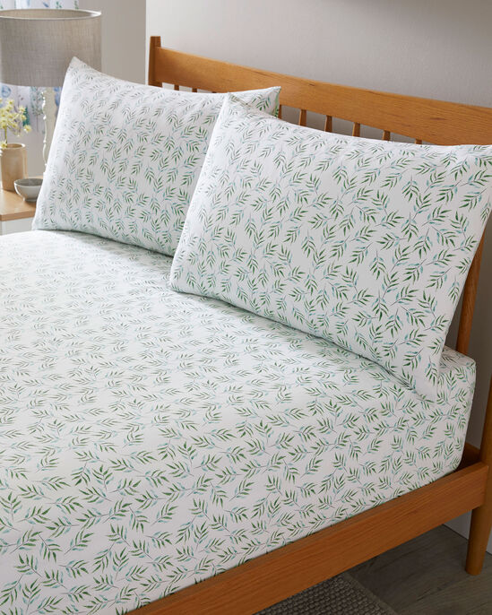 Botanical Cotton Fitted Sheet Set