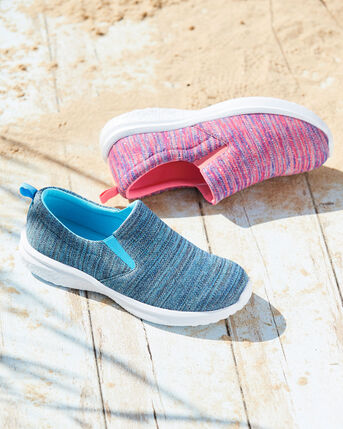 Lightweight Memory Foam Slip-on Trainers
