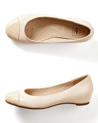 Covered Heel Ballerinas