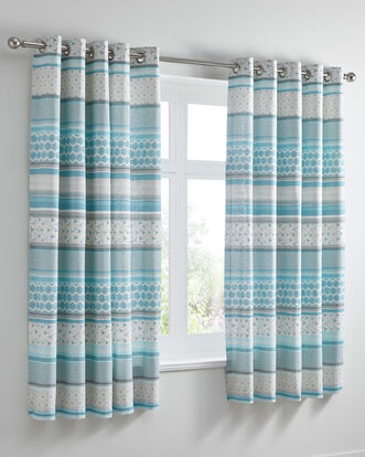 Santiago Eyelet Curtains 66x72""