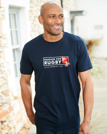 Short Sleeve Rugby T-shirt