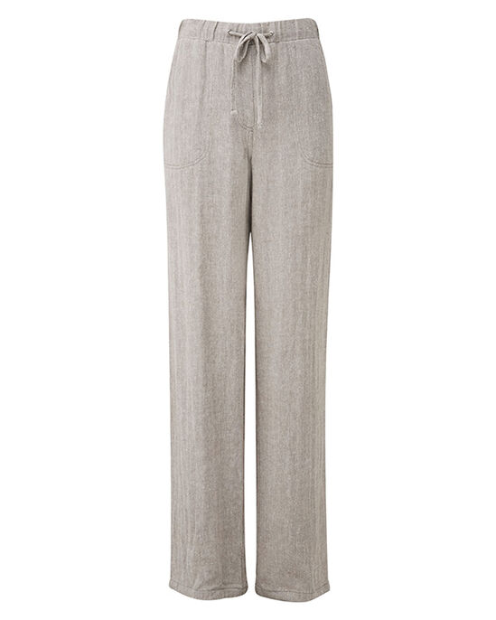 Linen-blend Trousers