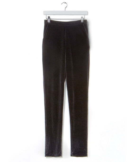 Velour Ankle Grazer Trousers