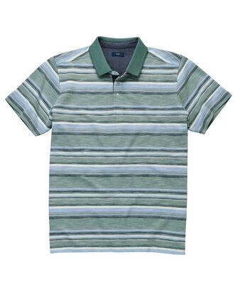 Stripe Luxury Polo Shirt