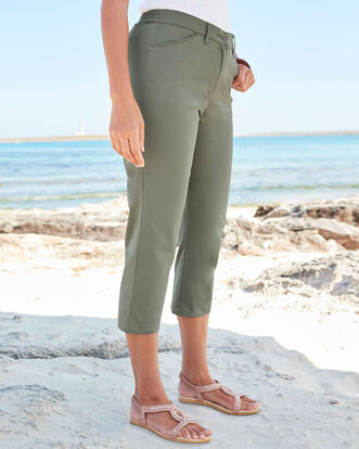Chino Crop Trousers