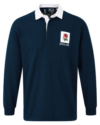 Long Sleeve England Classic Rugby Shirt