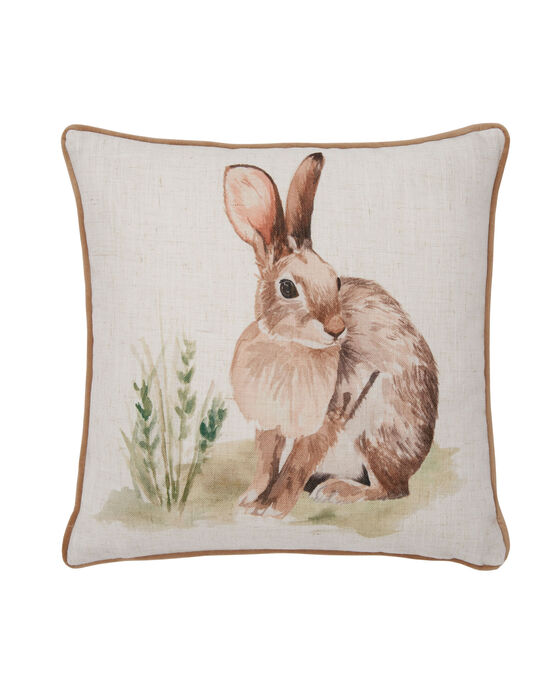 Country Rabbit Cushion