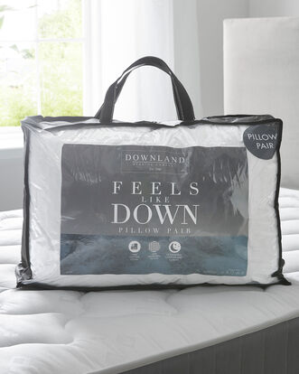 Pair of Feels Like Down Pillows
