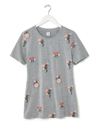 Embroidered Jersey T-shirt