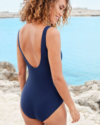 Tummy Control Spot Trim Swimsuit