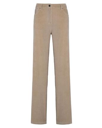 Ella Stretch Cord Straight Leg Jeans