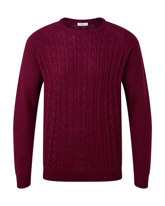 Cable Crew Neck Jumper
