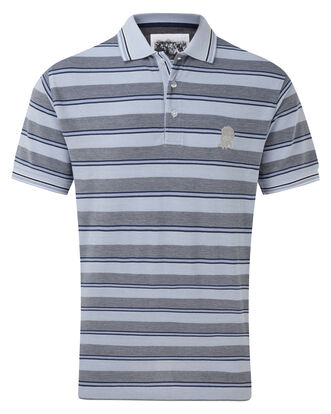 England Rose Multi Stripe Polo Shirt