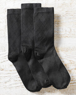 3 Pack Women's Trouser Socks