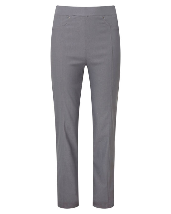 Super Stretchy Pull-on Trousers (Twill)