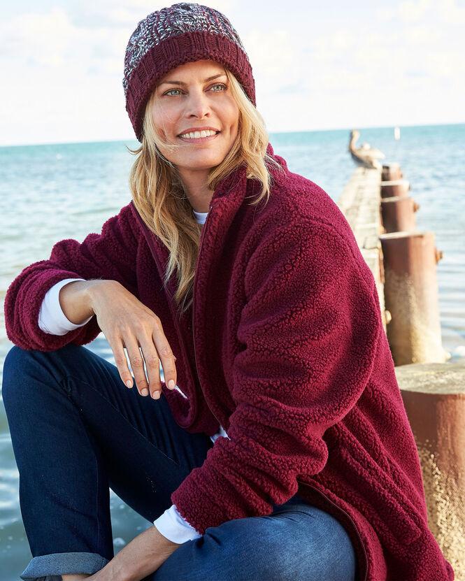 Women's Jackets for All Seasons | Sherpa Fleece Jacket | By Cotton Traders
