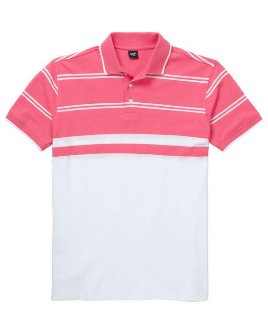 Luxury Stripe Polo Shirt