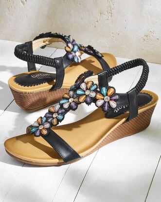 Jewel T-Bar Sandals