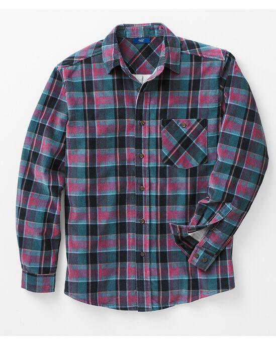 Printed Cord Shirt
