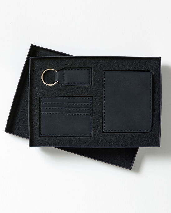 3 Piece Wallet and Fob Set
