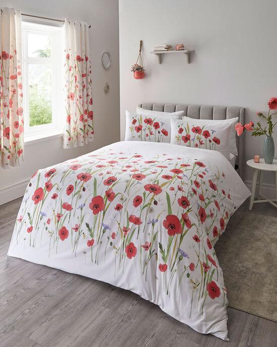 Poppy Fields Duvet Set