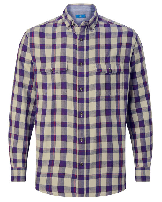 Luxury Touch Cotton Check Shirt