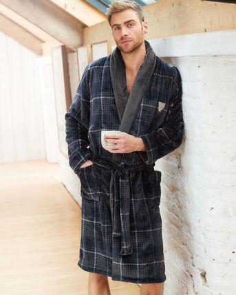 Guinness™ Check Fleece Dressing Gown