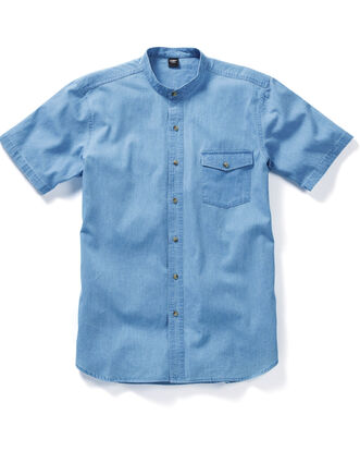 Denim Grandad Shirt