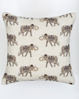 Elephant Repeat Cushion